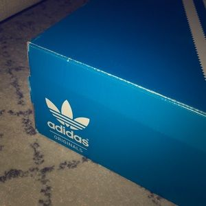 Adidas Tiffany blue sneakers